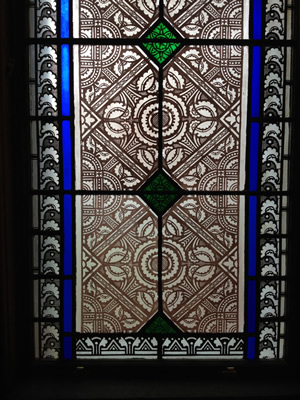stain and stenciled glass circa 1877 bethlehem nh